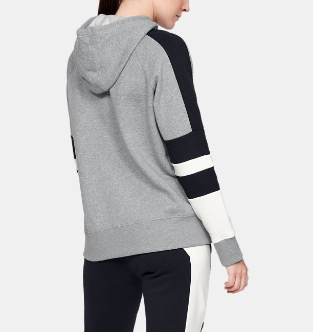 Felpa con cappuccio UA Rival Fleece LC Logo Novelty da donna