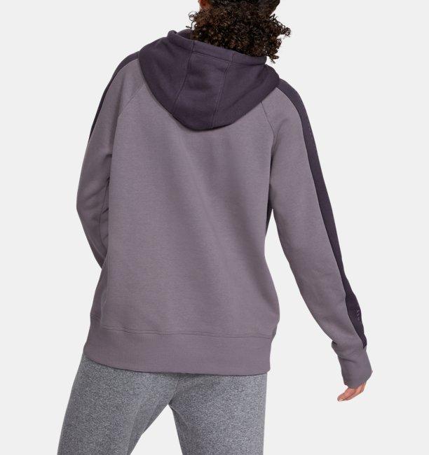 Dameshoodie UA Rival Fleece Graphic Novelty