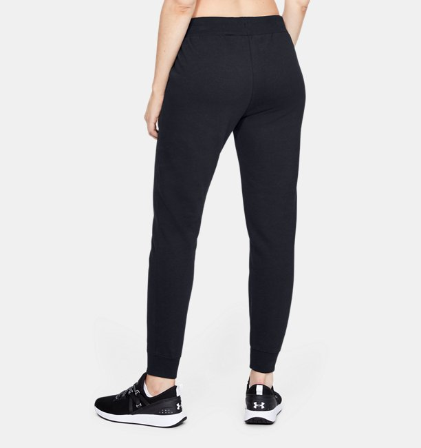 Womens UA Rival Fleece Solid Trousers
