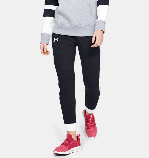 Women's UA Rival Fleece Graphic Pants