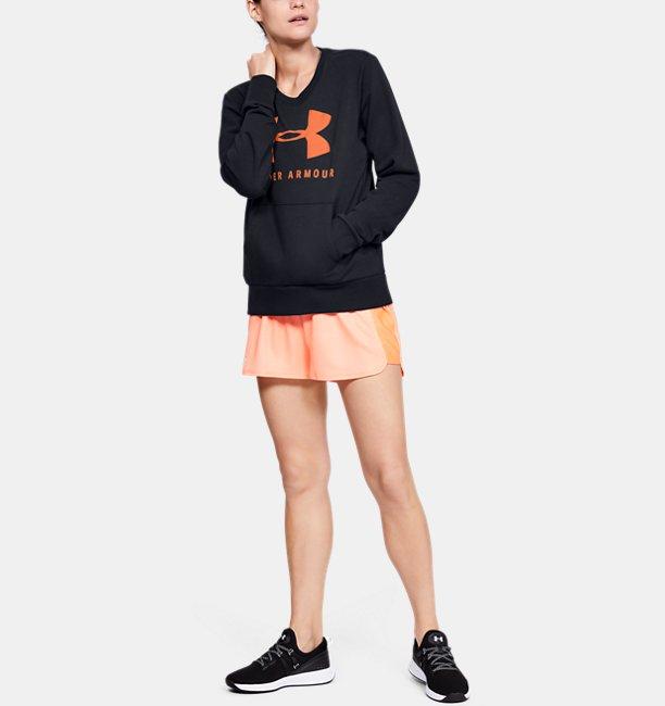 Womens UA Favorite Fleece Sportstyle Graphic Crew
