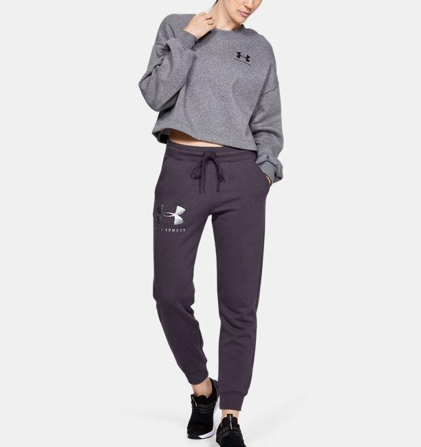 Damen UA Rival Sportstyle Fleece-Hose