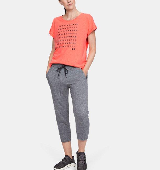 Womens UA Graphic Sportstyle Fashion Short Sleeve