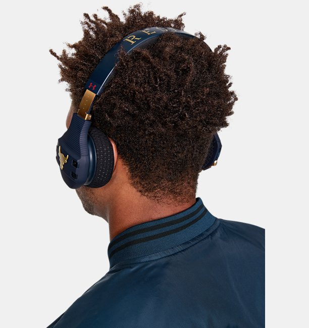 UA Sport Wireless Train Headphones — Project Rock