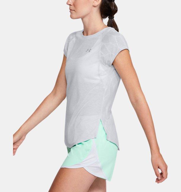Womens UA Streaker 2.0 Shift Short Sleeve