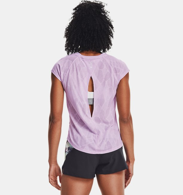 Womens UA Streaker 2.0 Shift Short Sleeve