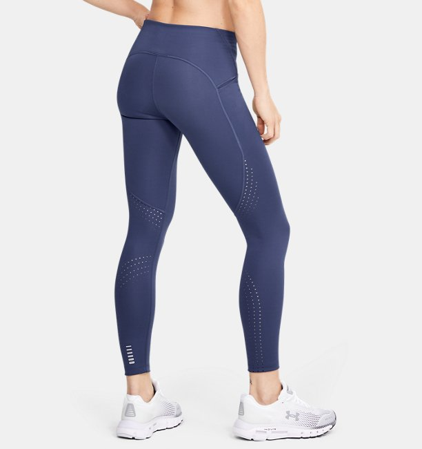Womens UA Qualifier Speedpocket Perforated Crop
