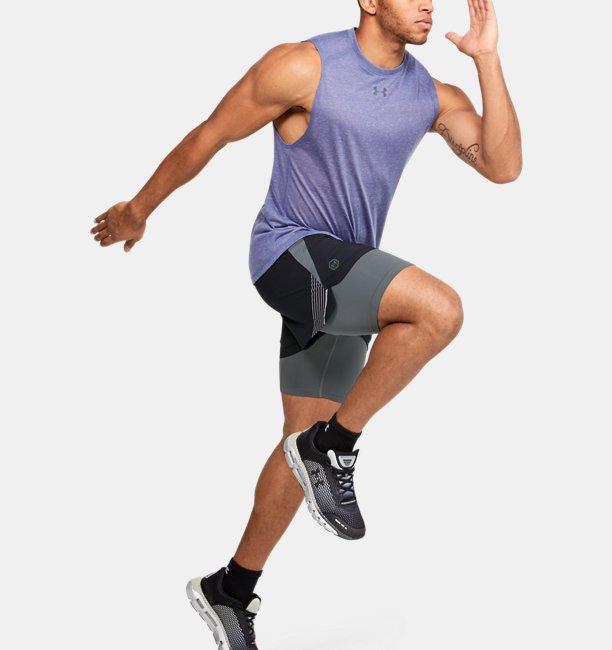 Shorts UA RUSH™ Run 2-in-1 para Hombre
