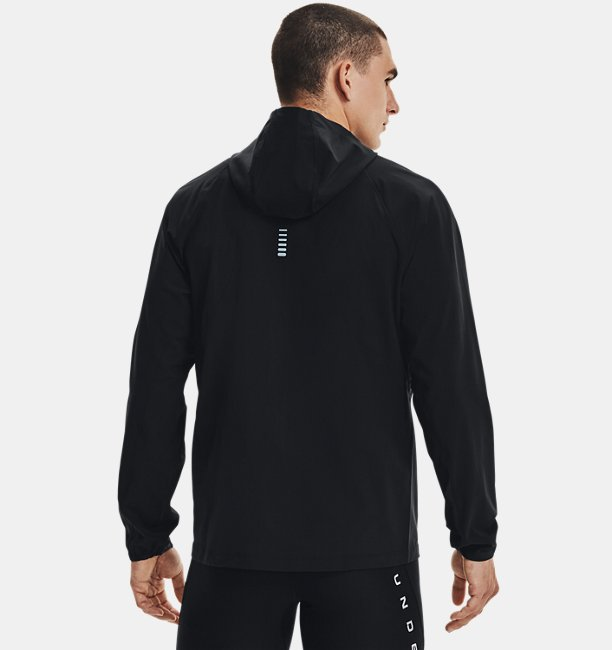 Mens UA Qualifier Outrun The Storm Jacket