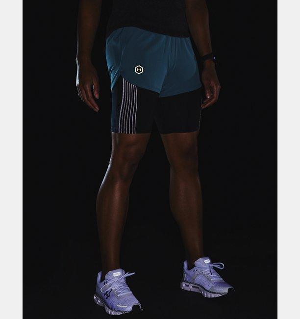 Womens UA RUSH™ Run 2-in-1 Shorts