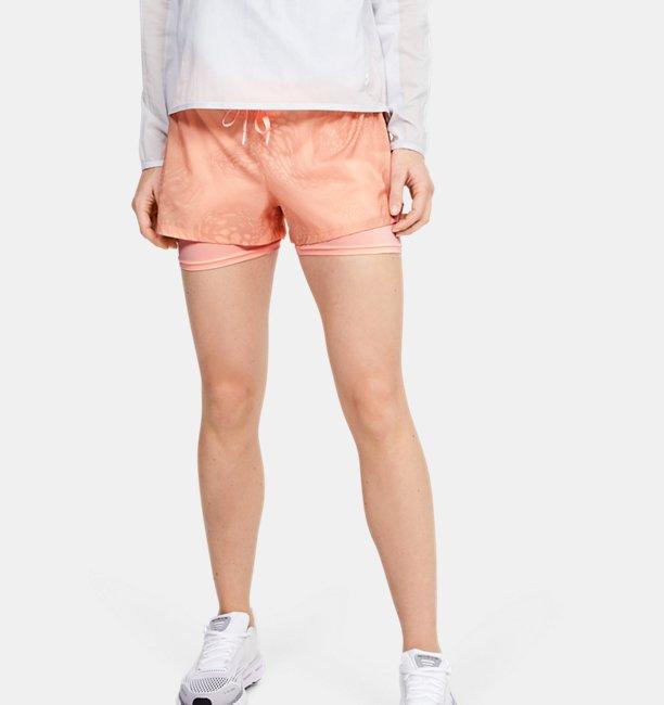 Damen UA Speedpocket Weightless 2-in-1-Shorts