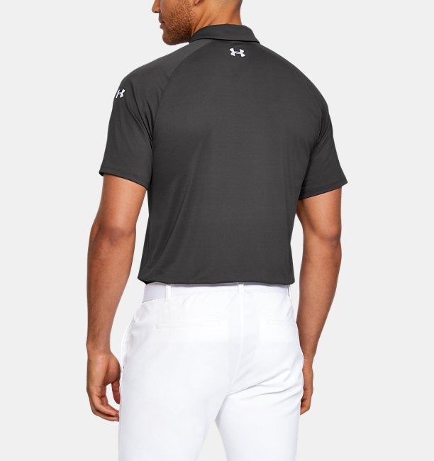 Mens UA Range Unlimited Iso-Chill Streamlined Polo