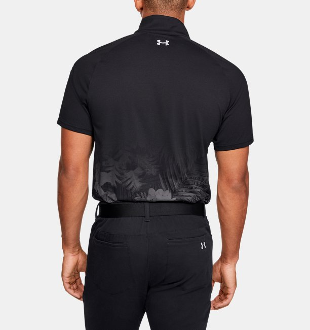 Mens UA Range Unlimited Zip Polo