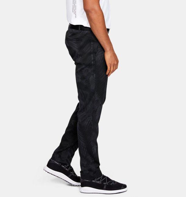 Mens UA Range Unlimited Slim Taper Printed Pants