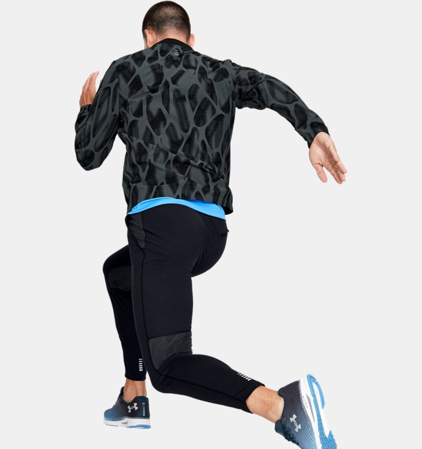 Mens UA Launch 2.0 Printed Jacket