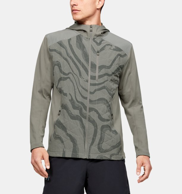 Mens ColdGear® Reactor Hybrid Lite Print Jacket