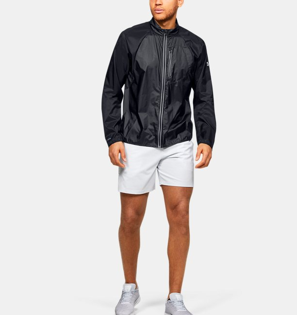 Mens UA Run Impasse Wind Jacket