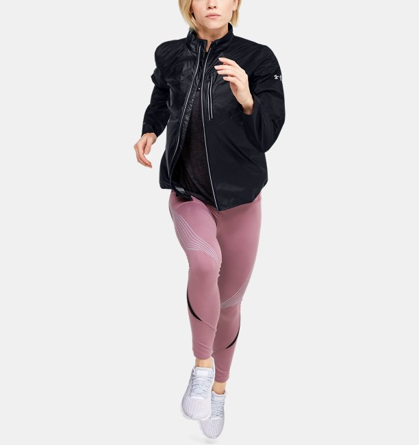 Womens UA Run Impasse Wind Jacket