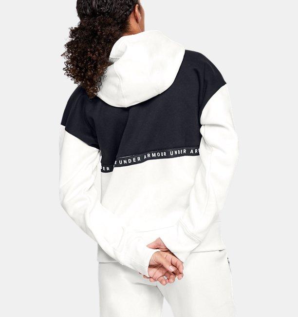 Womens UA Performance Originators Fleece LC Logo Full Zip Hoodie