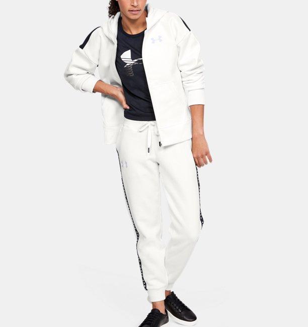 Womens UA Originators Fleece LC Logo Full-Zip Hoodie
