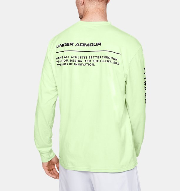 Mens UA Always On Graphic Long Sleeve