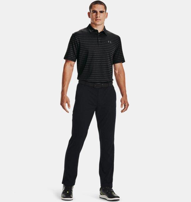 Mens UA Playoff Polo Core Stripe