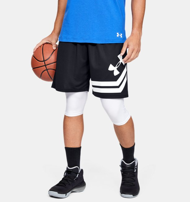 Mens UA Baseline 10 Court Shorts