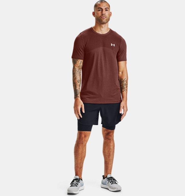 Mens UA Seamless Short Sleeve