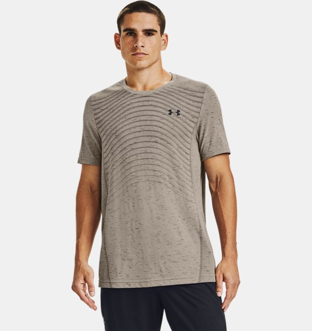 Men's UA Seamless Wave Short Sleeve