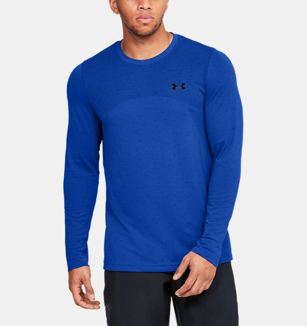 Mens UA Seamless Long Sleeve