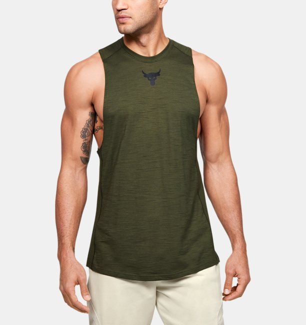 Herentanktop Project Rock Charged Cotton®