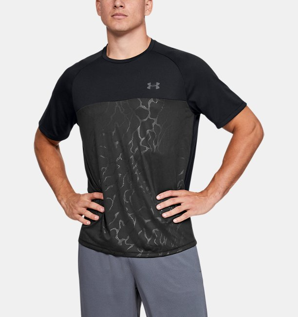 Mens UA Tech™ 2.0 Emboss Short Sleeve