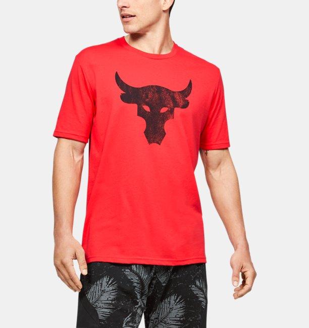 Mens Project Rock Brahma Bull Short Sleeve