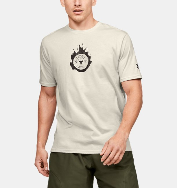 Mens Project Rock Stay Strong Short Sleeve