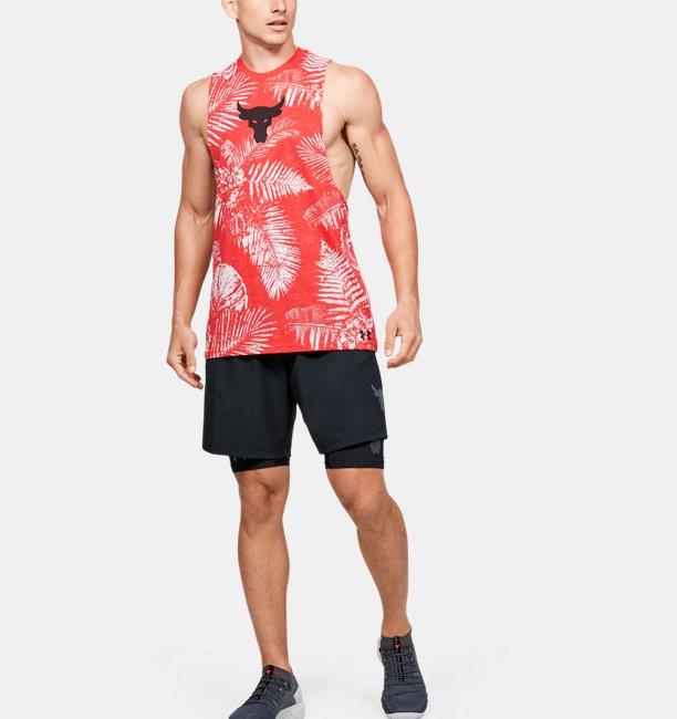 Débardeur Project Rock Aloha Camo pour homme