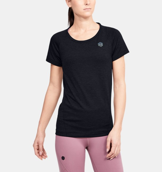 Womens UA RUSH™ Seamless Short Sleeve
