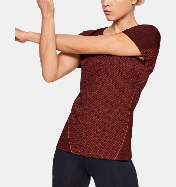 Womens UA RUSH™ Seamless Short Sleeve