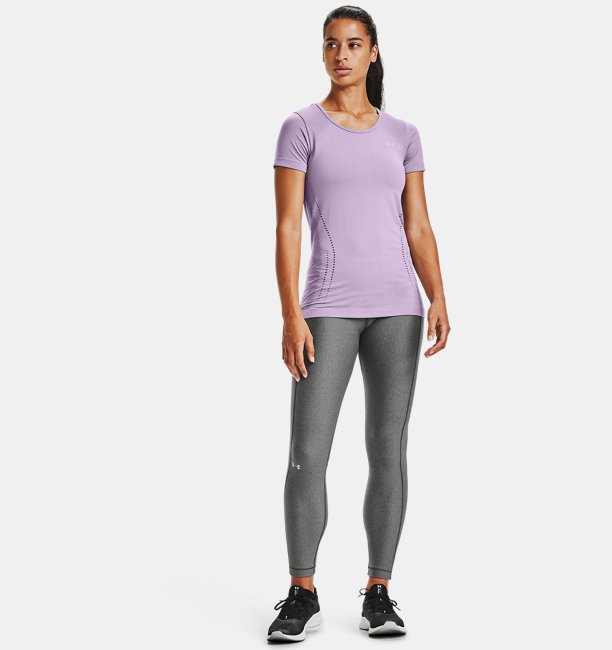 Womens UA Seamless Short Sleeve