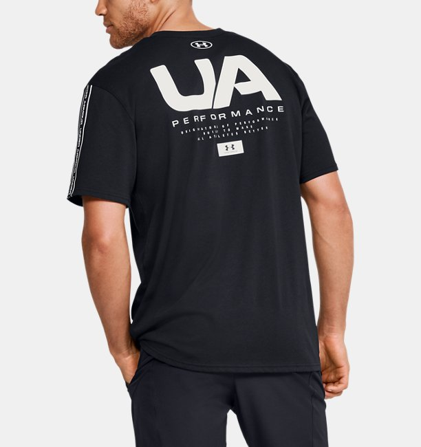 Mens UA Performance Shoulder Short Sleeve