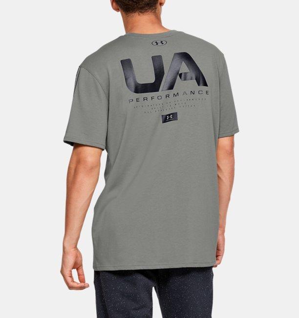 Mens UA Performance Shoulder Short Sleeve