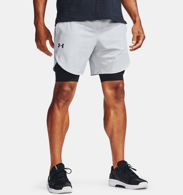 Mens UA Stretch Woven Shorts