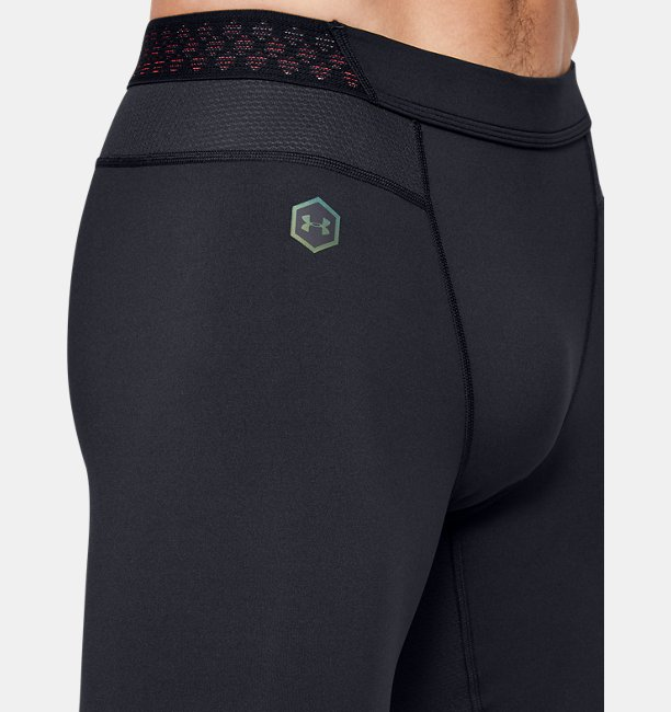 Shorts Largos de Compresión UA RUSH™ HeatGear® para Hombre