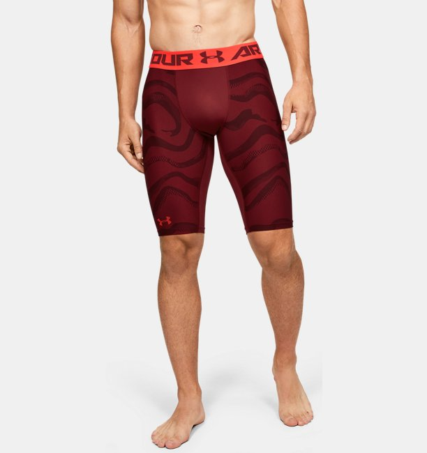 Mens HeatGear® Armour Extra Long Printed Shorts