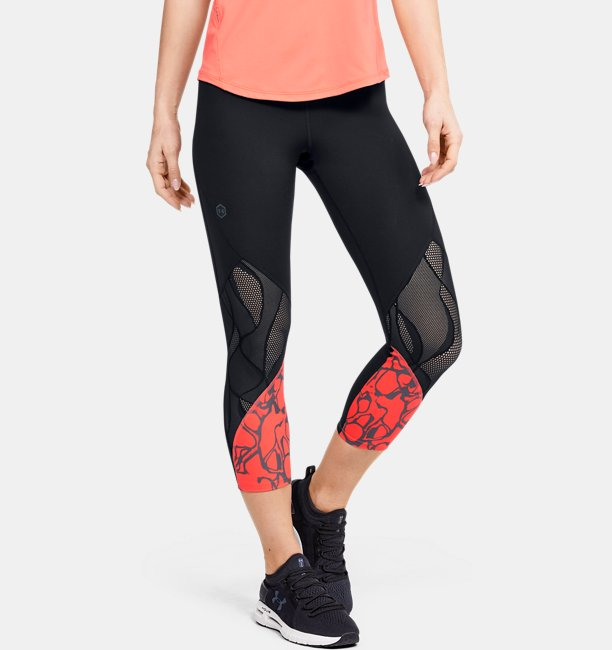 Womens UA RUSH™ Vent Iridescent Graphic Crop