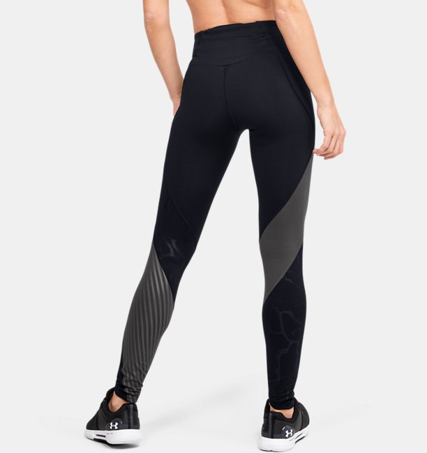 Womens UA RUSH™ Embossed Leggings