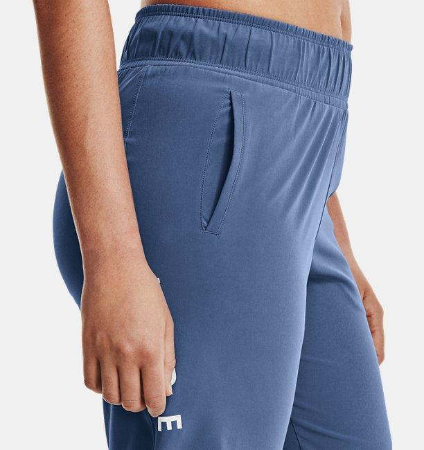 Womens UA Woven Branded Pants