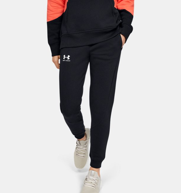 Womens UA Rival Fleece Joggers