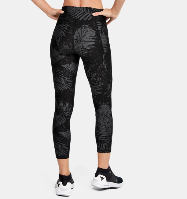 Womens Project Rock HeatGear® Armour Printed Ankle Crop