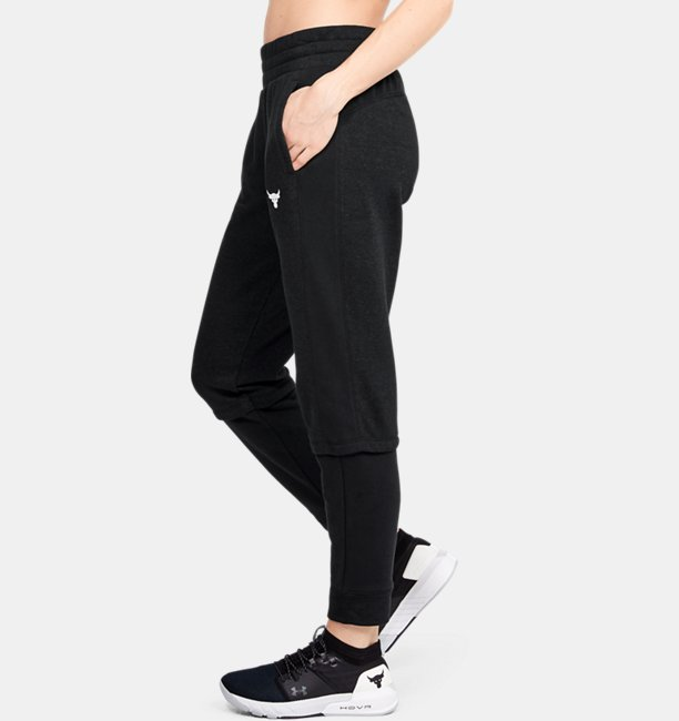 Womens Project Rock Terry Joggers