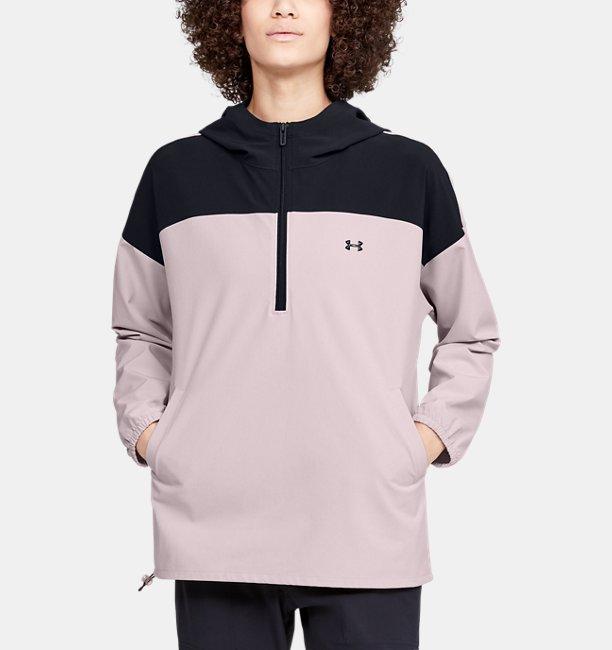 여성 UA 리커버 우븐 아노락 재킷